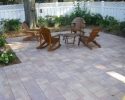 Meeting at backyard