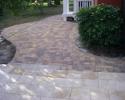 Sidewalk Paver Installation