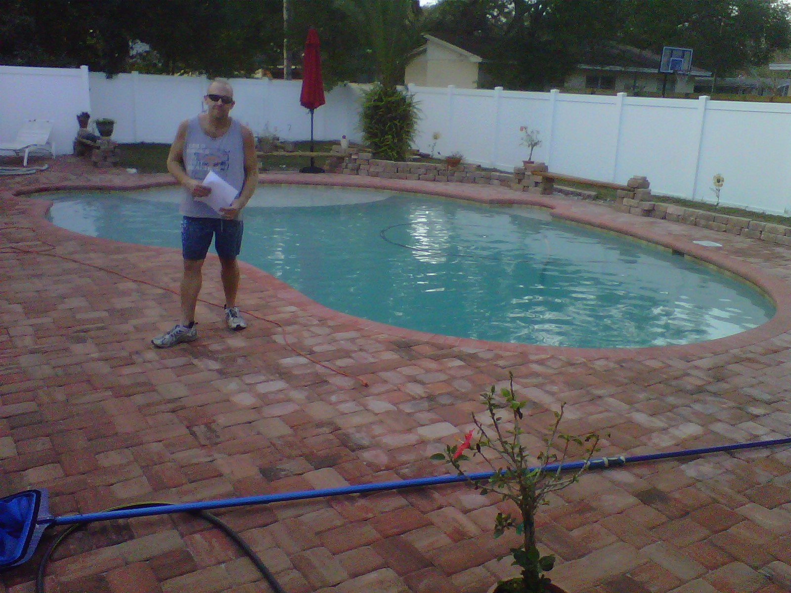 A HAPPY POOL CUSTOMER